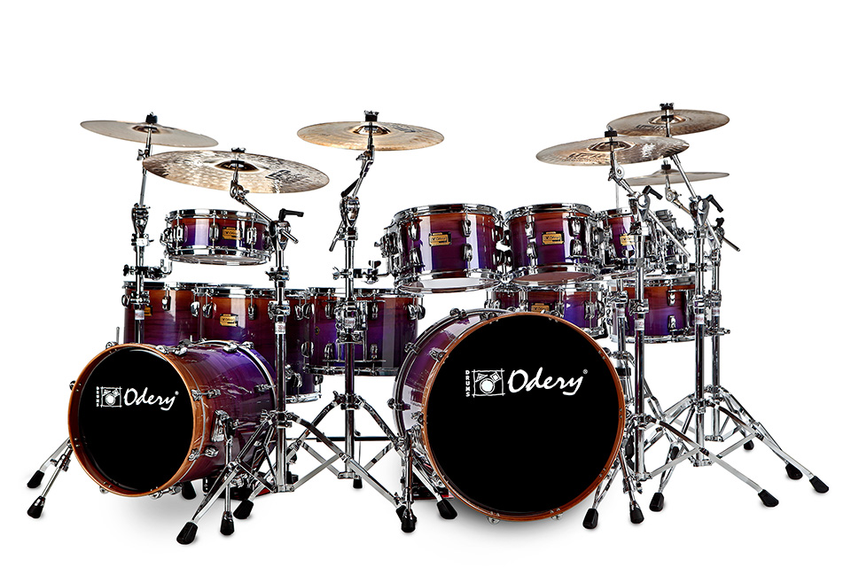 Custom Shop Purple Fade Odery Custom Drums