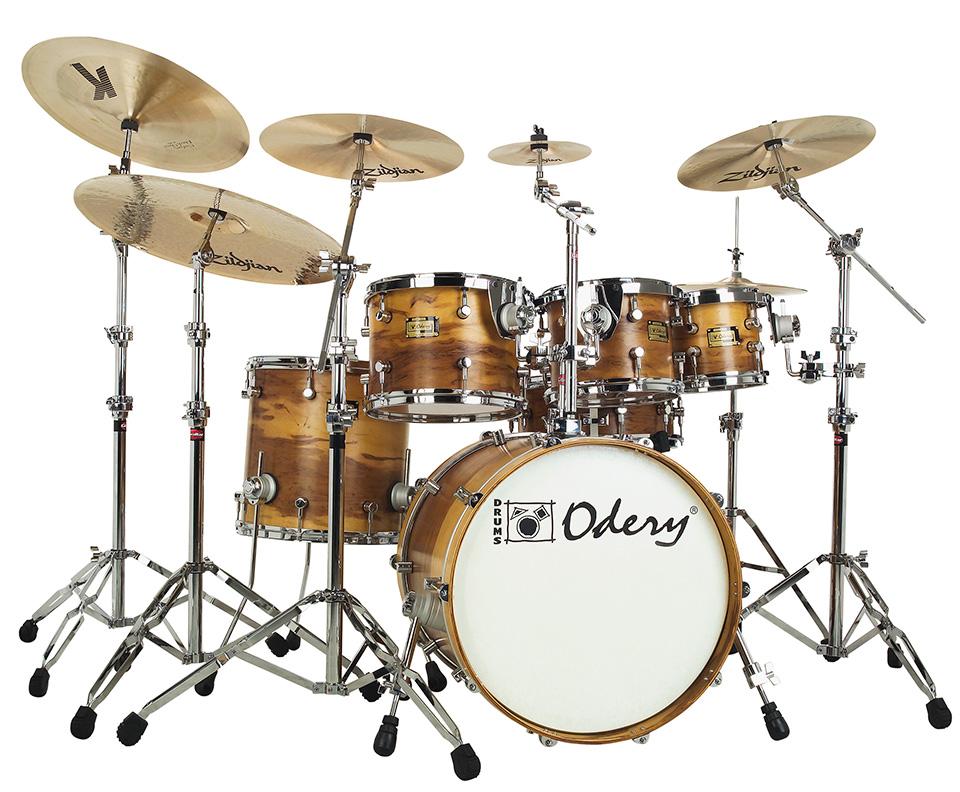 Custom Shop Imbuia Odery Custom Drums