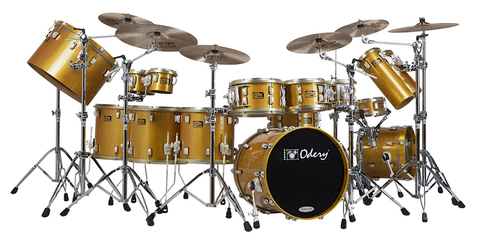 Custom Shop Gold Odery Custom Drums